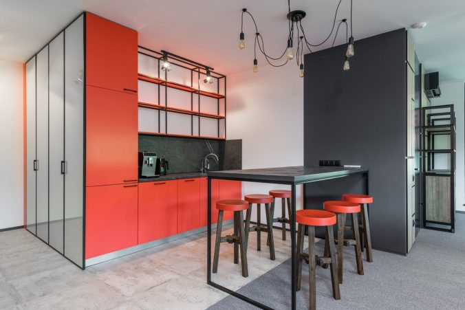 adding colors to home with furniture